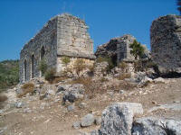 A hill in the Ruins of Kaunos near Dalyan