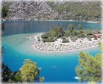 l Deniz,the nicest beach of Turkey, near Fethiye, Best holiday places in Turk...